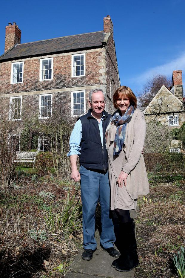 The Advertiser Series: Owners Keith and Maggie Bell at Crook Hall and Gardens, Durham