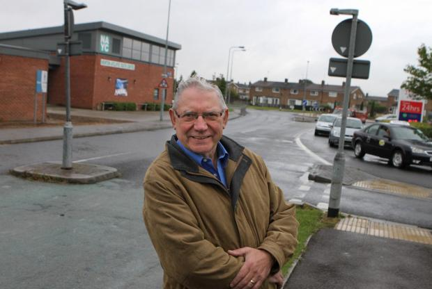 The Advertiser Series: Chairman Vince Crosby outside Newton Aycliffe Youth and Community Centre