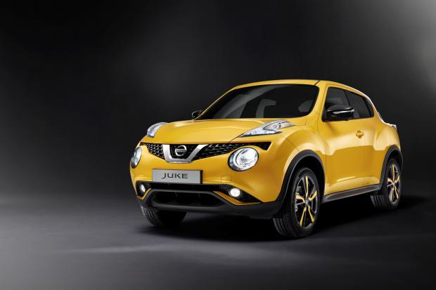 The Advertiser Series: The updated Nissan Juke, which will be made at the Japanese company's Sunderland plant