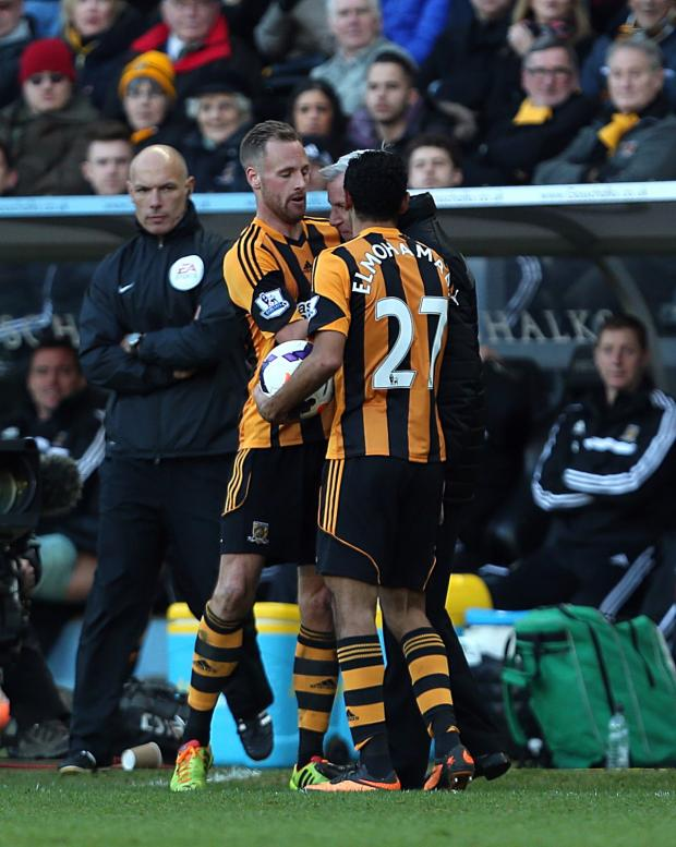 The Advertiser Series: FLASHPOINT: Alan Pardew clashed with David Meyler on the touchline last weekend