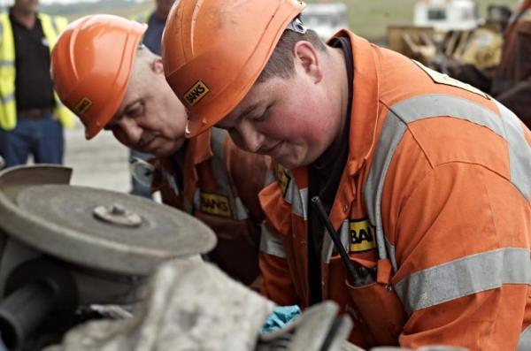 The Advertiser Series: Banks apprentices working on the Shotton mine