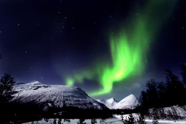The Advertiser Series: The Northern Lights in Norway, close to the Swedish and Finnish border. Norway, Sweden and Finland are all key importers of North-East goods
