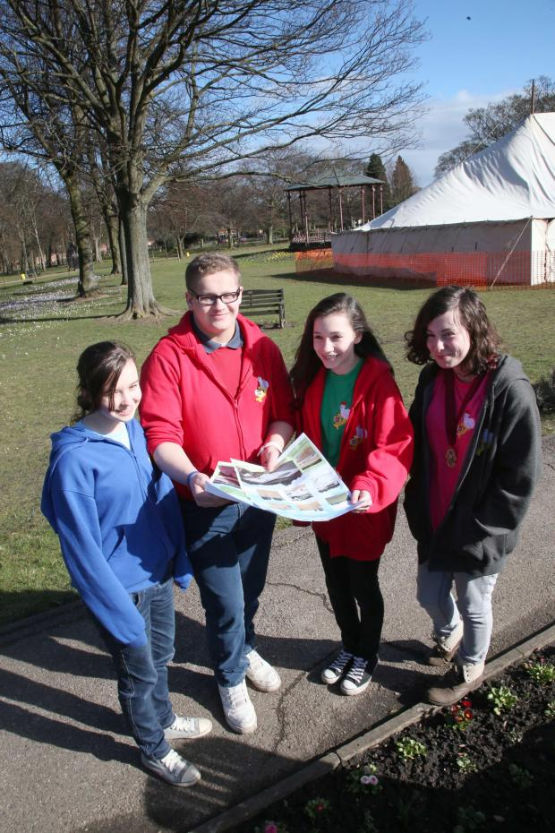 The Advertiser Series: Spennymoor Youth Council members Beth Small, Kieran Cunningham, Rhiannon Stokes and Rachel Bartle discuss the skate park.