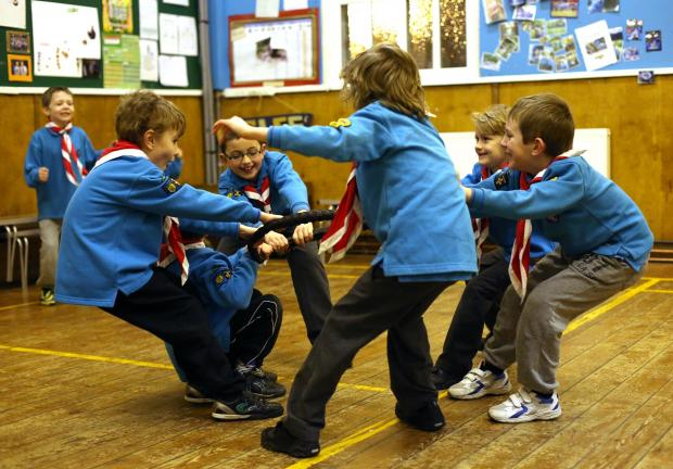 The Advertiser Series: 1st Sedgefield Scouts enjoy energetic games