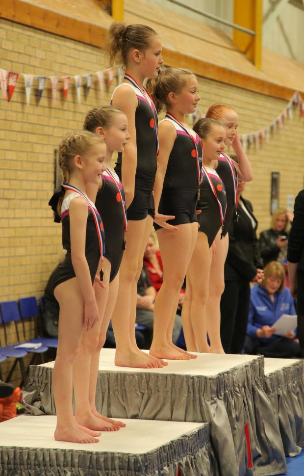 The Advertiser Series: Hundreds of young gymnasts display skills in regional contest at Deerness Gymnastics Academy