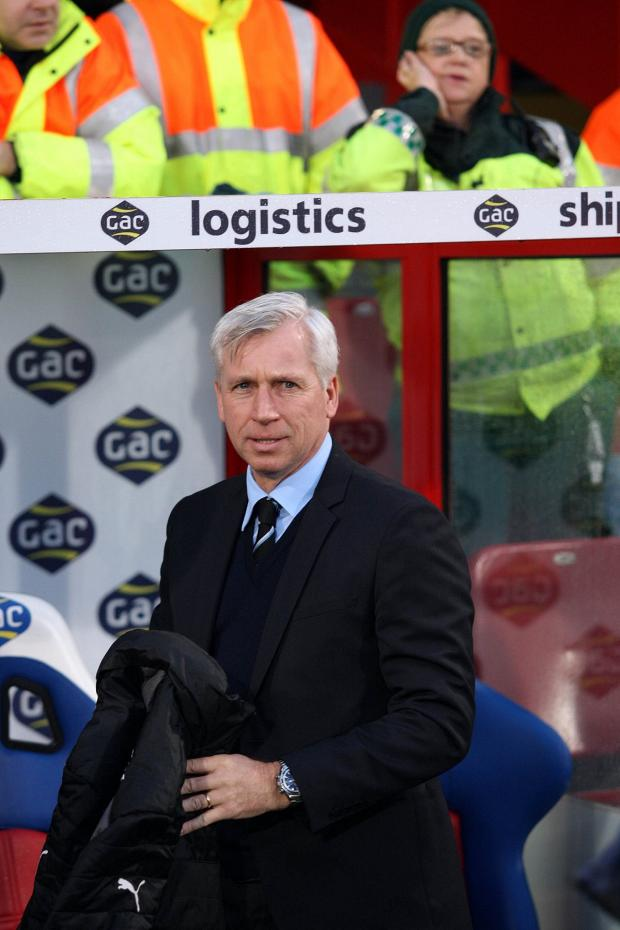 The Advertiser Series: LOOKING FOR IMPROVEMENTS: Alan Pardew has been working with his defence this week in an attempt to ensure there is no repeat of last weekend's capitulation at Southampton