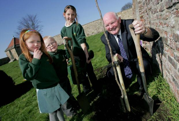 The Advertiser Series: Tree planting at Old Durham Gardens