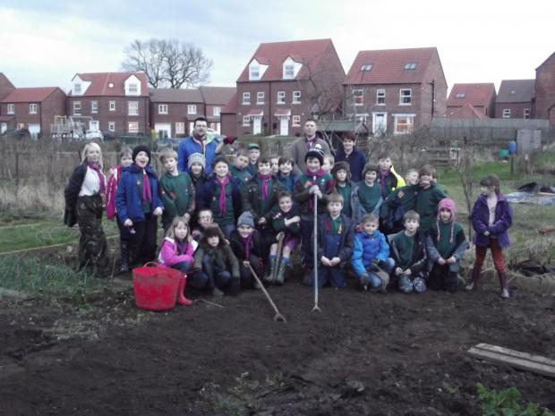 The Advertiser Series: Bedale cubs on the allotments