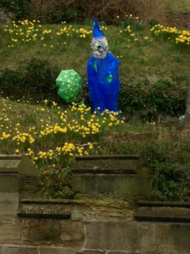 The Advertiser Series: Police hunt for 8ft garden gnome stolen from Durham Castle
