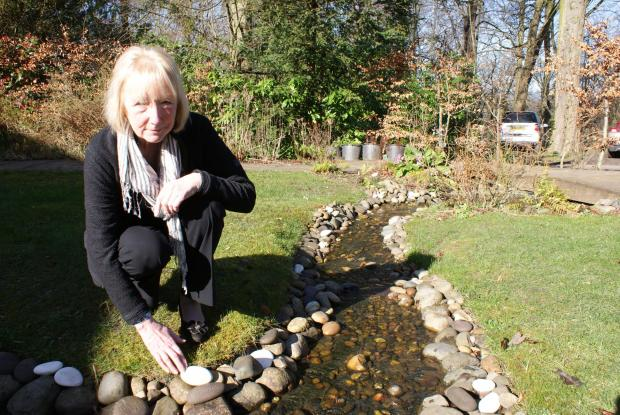 The Advertiser Series: Shirley Arundale in St Cuthbert's Hospice's In Memory Garden