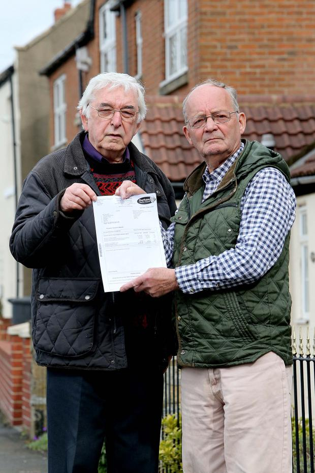 The Advertiser Series: Pittington residents Peter McCutcheon and Bill Kellett