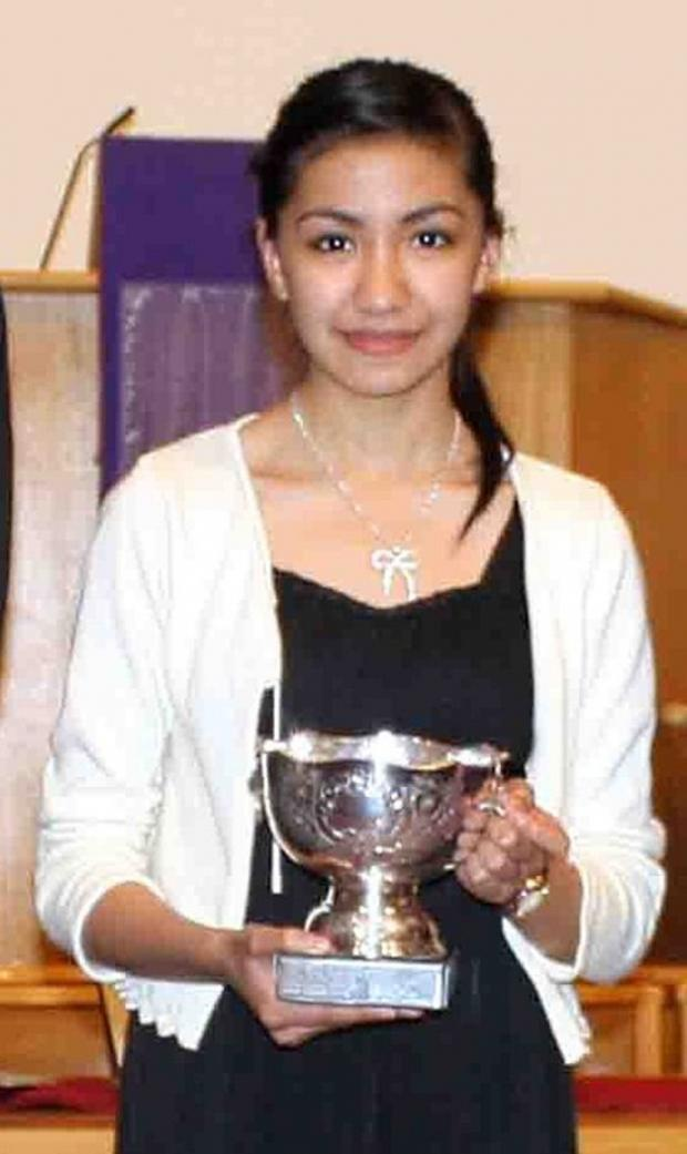 The Advertiser Series: PREVIOUS WINNER: Rhea Rabot, from Birtley, who won the James Etherington Music Competition in 2012.