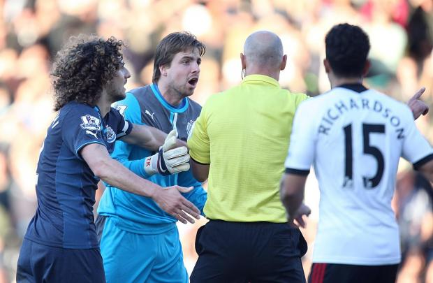 The Advertiser Series: AWAY DAY WOE: Newcastle goalkeeper Tim Krul during Saturday's defeat at Fulham