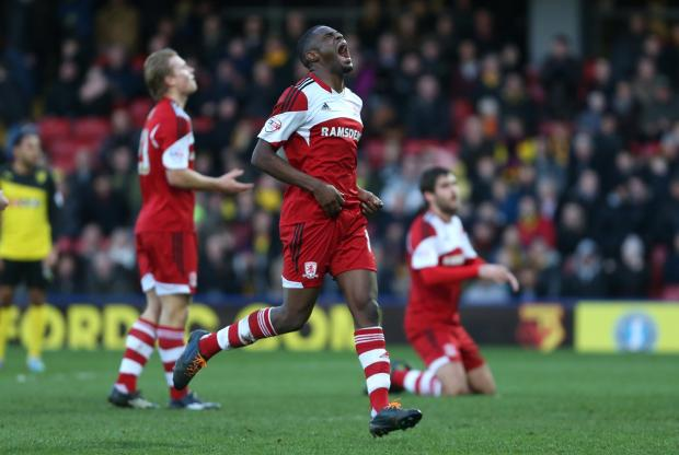 The Advertiser Series: INJURY WOE: Boro attacker Mustapha Carayol is facing a lengthy spell on the sidelines