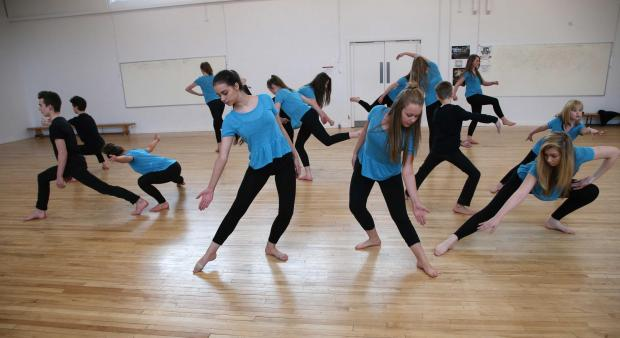 The Advertiser Series: Dancers recreate their winning routine at Hummersknott Academy