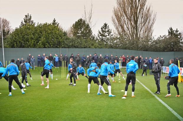 The Advertiser Series: WATCHING BRIEF: A group of 27 local youth coaches were invited to attend a first-team training session at Newcastle United's Benton training ground