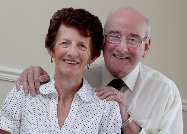 The Advertiser Series: COMMUNITY STALWART: Coun Bill Waters of Byers Green, with wife Julia