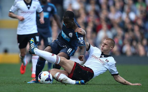 The Advertiser Series: DULL: Action from Newcastle United's 1-0 defeat to Fulham at Craven Cottage