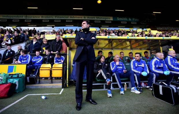 The Advertiser Series: UNHAPPY MAN: Sunderland manager Gustavo Poyet during the Premier League defeat at Carrow Road on Saturday