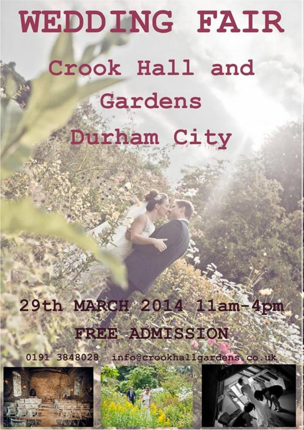 The Advertiser Series: Crook Hall wedding fair