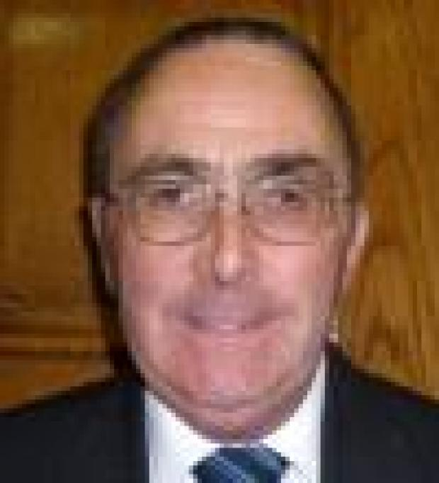 The Advertiser Series: Councillor John Watson, who is retiring from Barnard Castle Town Council after 38 years service