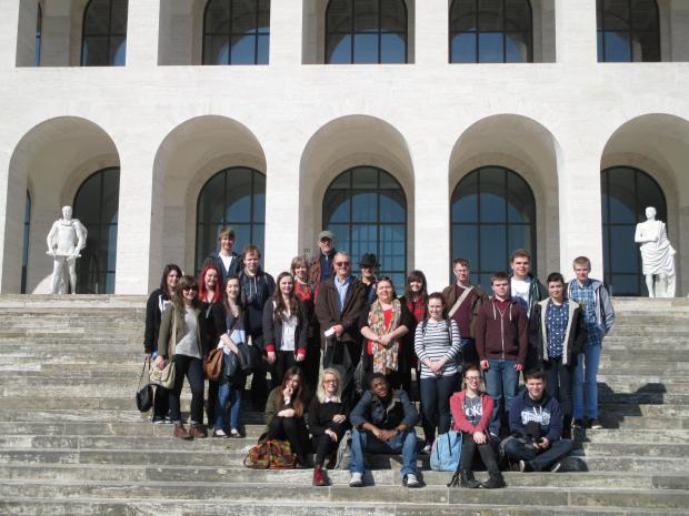 The Advertiser Series: The students in Rome