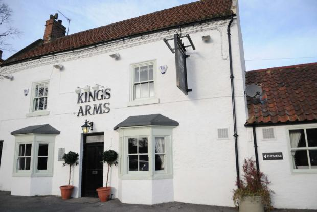 The Advertiser Series: The Kings Arms, in Great Stainton, near the proposed houses