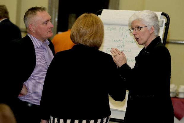 The Advertiser Series: Discussions take place at the Darlington town centre conference