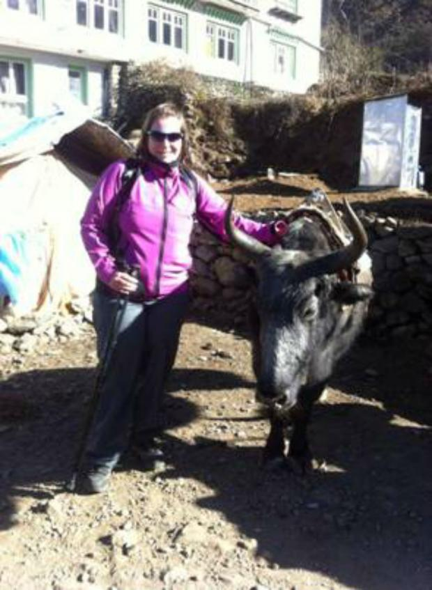 The Advertiser Series: Annelies O'Nions, who has completed a successful trip to Everest Base Camp