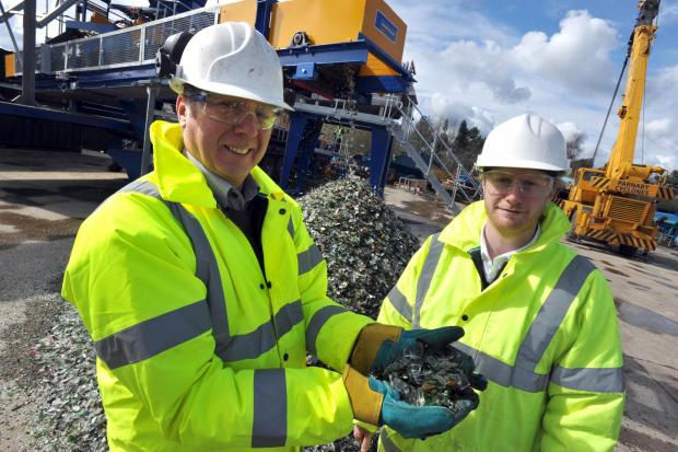 The Advertiser Series: Ben Parnaby and father Adrian, who run the company alongside Ian Parnaby, are pictured at the firm's plant