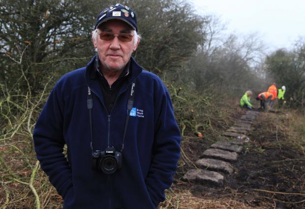 The Advertiser Series: Fred Wright who has criticised work to clear the Brusselton Incline