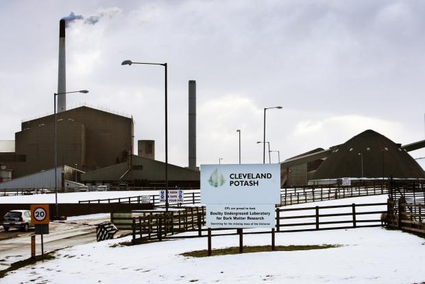 The Advertiser Series: Cleveland Potash, in Boulby, east Cleveland