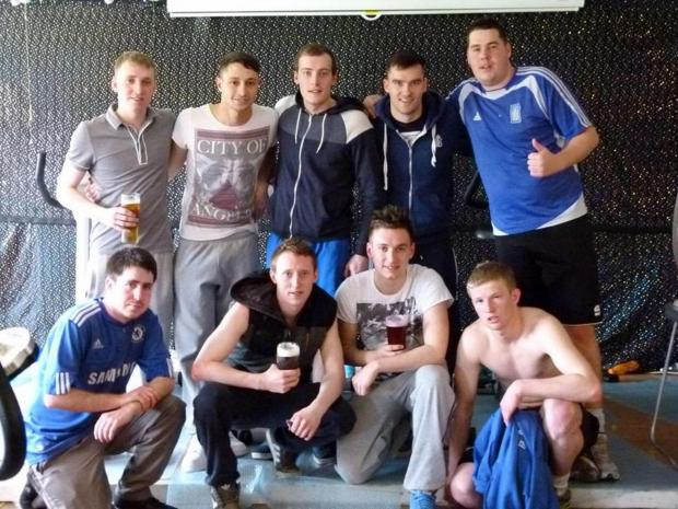 The Advertiser Series: The fundraising team who raised £2,500 for two charities in memory of their late friend, Darren Mullery.