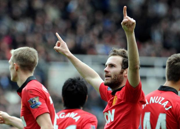 The Advertiser Series: MAIN MAN: Juan Mata was the architect of Manchester United's win at St James' Park, scoring two and setting up another in a 4-0 win