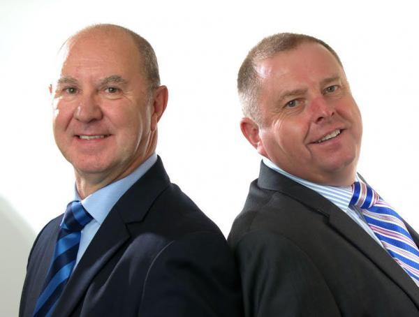 The Advertiser Series: Mark Williams, left, and Ken Cross, who will run Arena Group's North-