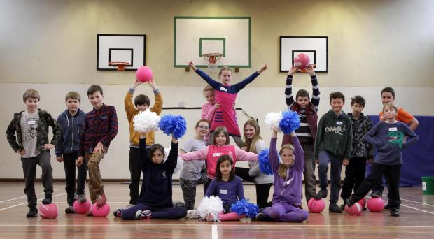 The Advertiser Series: EASTER FUN: Children take part in a Big Lottery-funded street dance workshop at Teesdale School