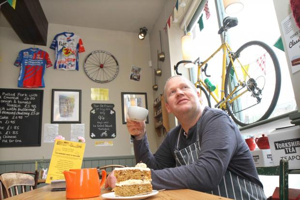 The Advertiser Series: Cafe owner Andrew Cussons who has transformed his premises in
