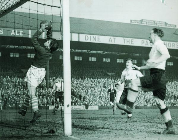 The Advertiser Series: FORMER STAR: Rolando Ugolini was a popular player for Middlesbrough in the 1940s and 50s