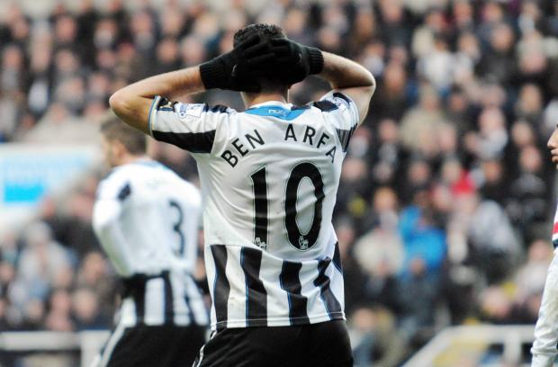 The Advertiser Series: COME IN NUMBER TEN: Newcastle fans are clamouring for the return of Hatem Ben Arfa to the team but manager Alan Pardew is far from convinced that the midfielder deserves a starting berth