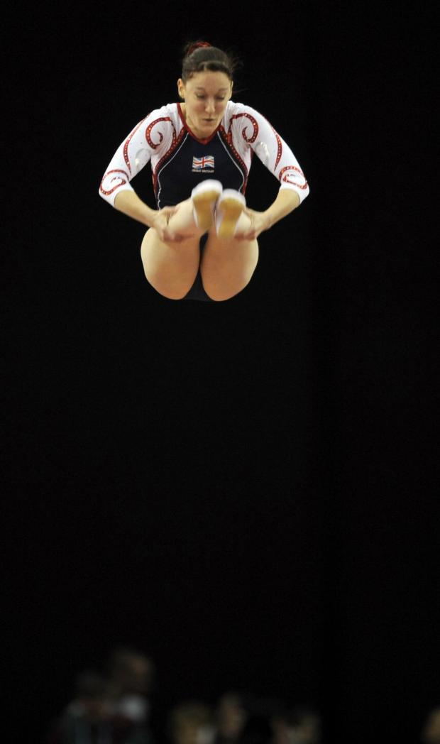 The Advertiser Series: TRAMPOLINE CLASS: You don't have to be as good as Great Britain's Katherine Driscoll to try trampolining