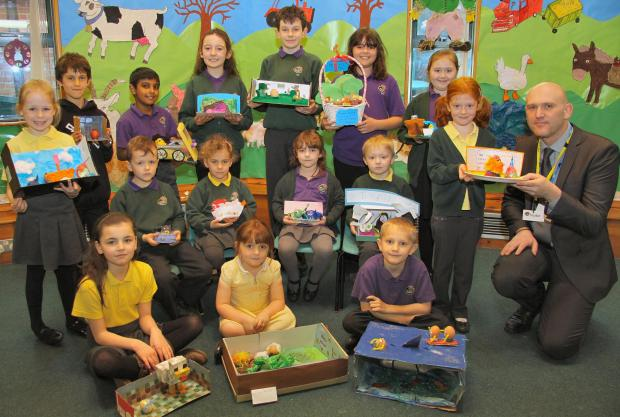 The Advertiser Series: Pupils from West Park Academy and their winning Easter egg