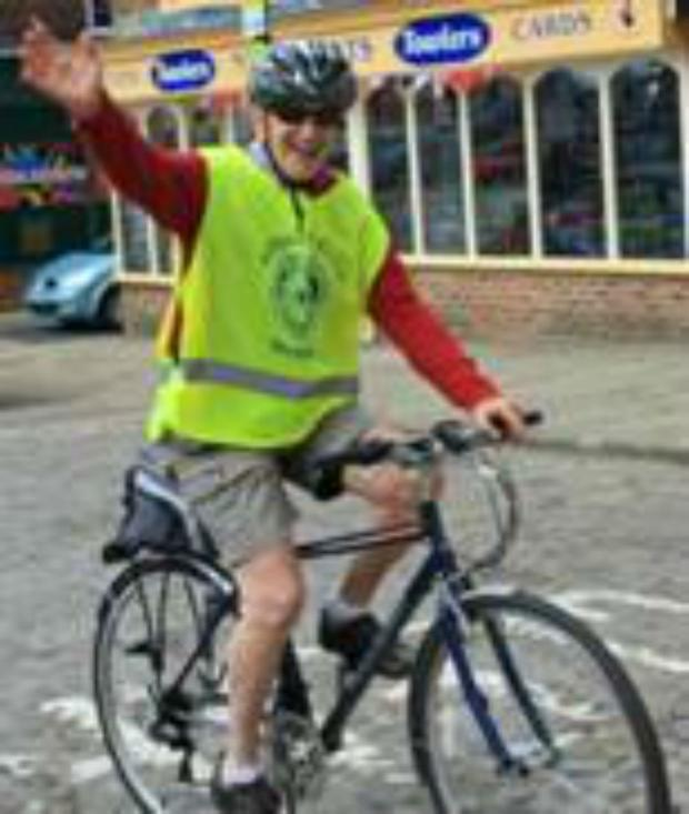 The Advertiser Series: INVITE: Thirsk Rotary Club cycle ride organiser Colin Watt