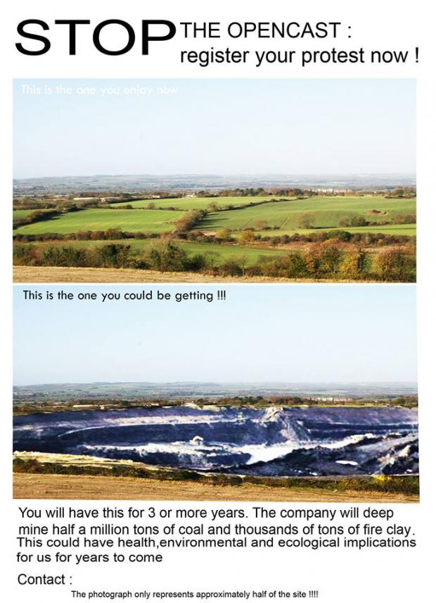 The Advertiser Series: Pittington opencast plan 'crazy', say campaigners