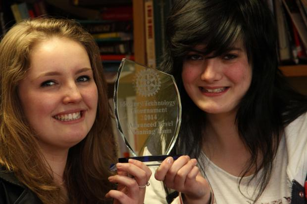 The Advertiser Series: Delivering a win, Northallerton College students Danielle Baxter, left, and Sophie Gill.