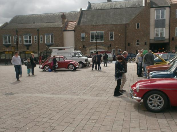 The Advertiser Series: FLASH BACK: Members of the public browse the vehicles on display at a previous event