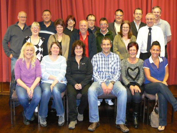 The Advertiser Series: Members of the newly formed Shildon Chamber of Trade.