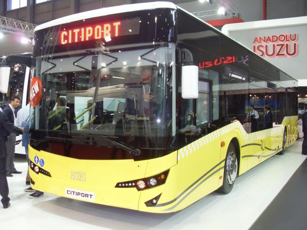 The Advertiser Series: The new Anadolu Isuzu Citiport bus, launched at last week's Busworld Turkey event in Istanbul.