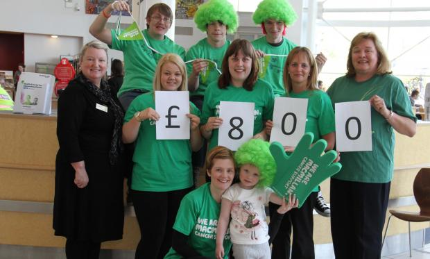 The Advertiser Series: Staff and students at Darlington College raised £800 for Macmillan Cancer Support