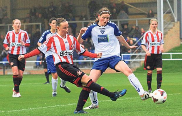 The Advertiser Series: GOALSCORER: Sunderland's Beth Mead in action