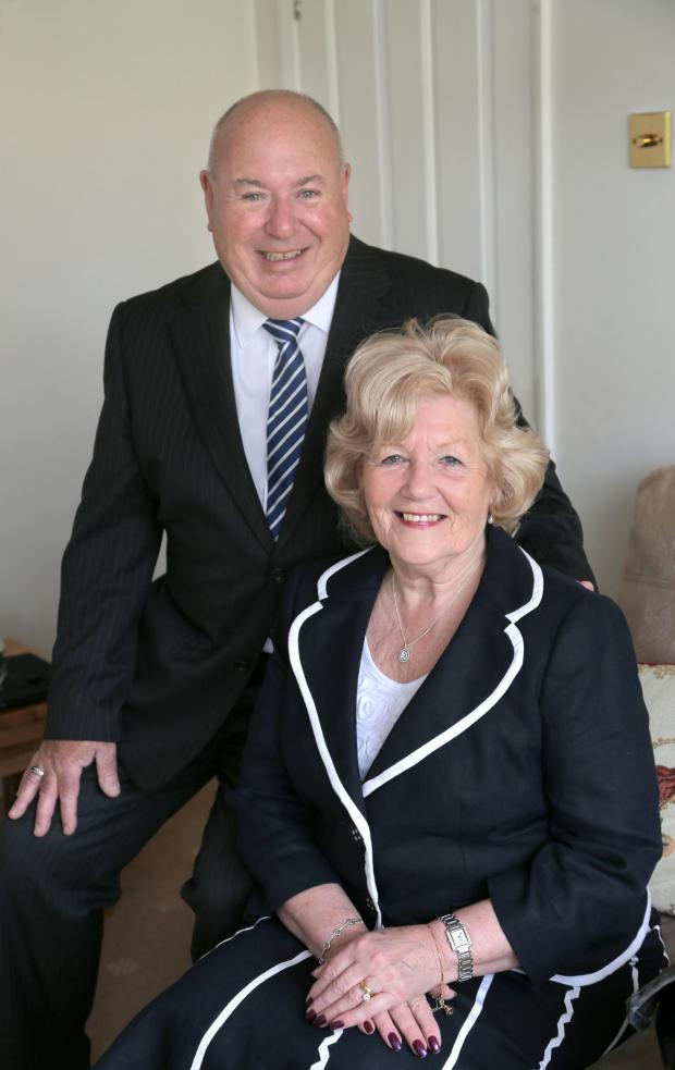 The Advertiser Series: SUCCESSFUL YEAR: Charles and Carol Johnson, who have enjoyed a memorable year as Darlington's mayor and mayoress